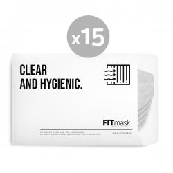 Pack 15 filtros para FITmask FM001SP (3 meses uso regular)