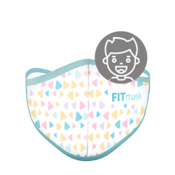 Mascarilla FITmask Colour Triangles - Niño