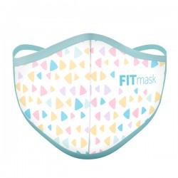 Mascarilla FITmask Colour Triangles - Adulto