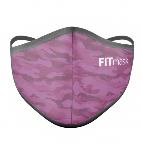 FITmask Pink Camo - Adulto