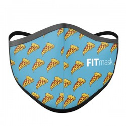 Mascarilla FITmask Pizza Time - Adulto