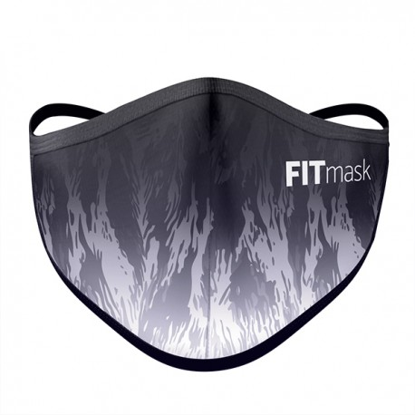 Mascarilla FITmask Black Savage - Adulto