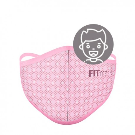 FITmask Geometric Pink - Niño