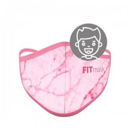 Mascarilla FITmask Pink Marble - Niño