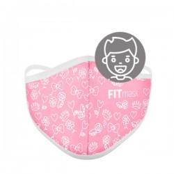 Mascarilla FITmask Sweet Pink - Niño