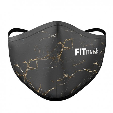 Mascarilla FITmask Gold Marble - Adulto