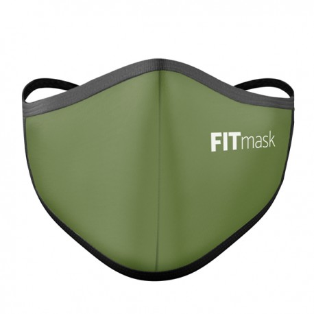 Mascarilla FITmask PRO Army Green - Adulto