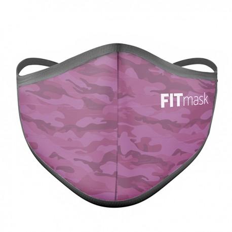 Mascarilla FITmask PRO Pink Camo - Adulto