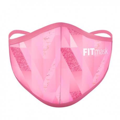 Mascarilla FITmask PRO Pink Diamond - Adulto