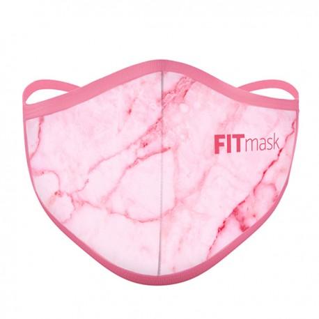Mascarilla FITmask PRO Pink Marble - Adulto