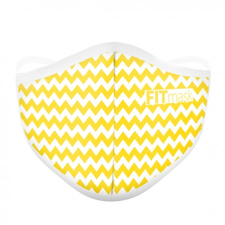 FITmask Chevron Yellow - Adulto