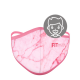 Mascarilla FITmask PRO Pink Marble - Niño