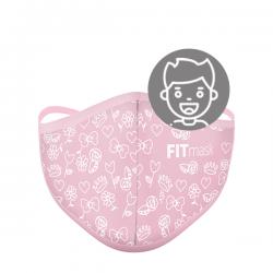 Mascarilla FITmask PRO Sweet Pink - Niño