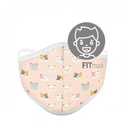 Mascarilla FITmask PRO Kitten Show - Niño