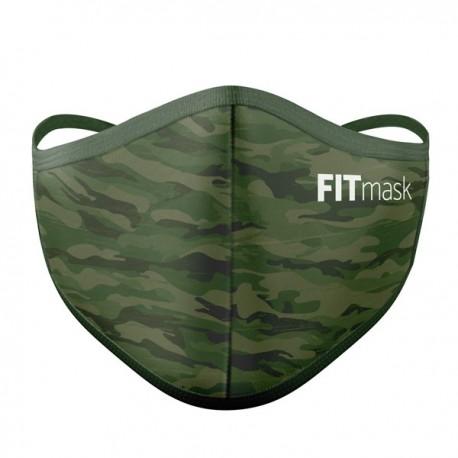 Mascarilla FITmask PRO Green Camo - Adulto