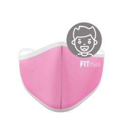 Mascarilla FITmask Pale Pink - Niño