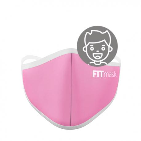 Mascarilla FITmask PRO Pale Pink - Niño