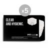 Pack 5 filtros para FITmask PRO FM002SP (1 mes uso regular)