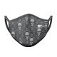 Mascarilla FITmask Infinite Skull - Adulto