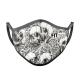 Mascarilla FITmask Skull Garden - Adulto