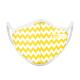 FITmask Chevron Yellow - Adulto