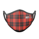 Mascarilla FITmask Red Tartan - Adulto