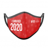 Mascarilla FITmask I Survived 2020 - Adulto
