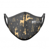Mascarilla FITmask Rudolph Tree - Adulto