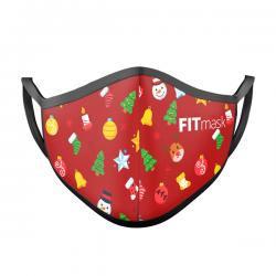 Mascarilla FITmask Christmas Joy - Niño