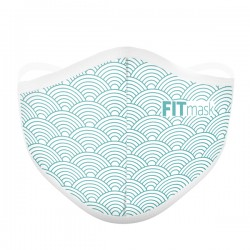 Mascarilla FITmask Oriental Waves - Adulto