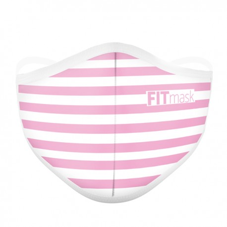 FITmask Pink Stripes - Adulto