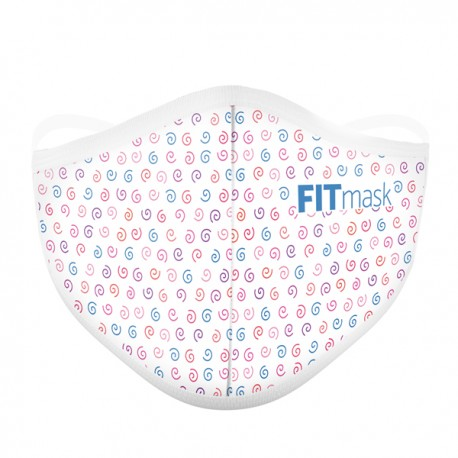 FITmask Colour Spirals - Adulto